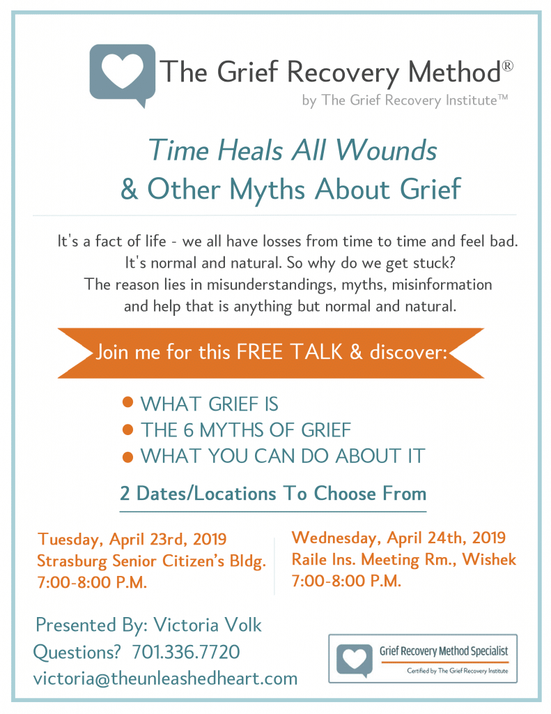 Free talk about grief