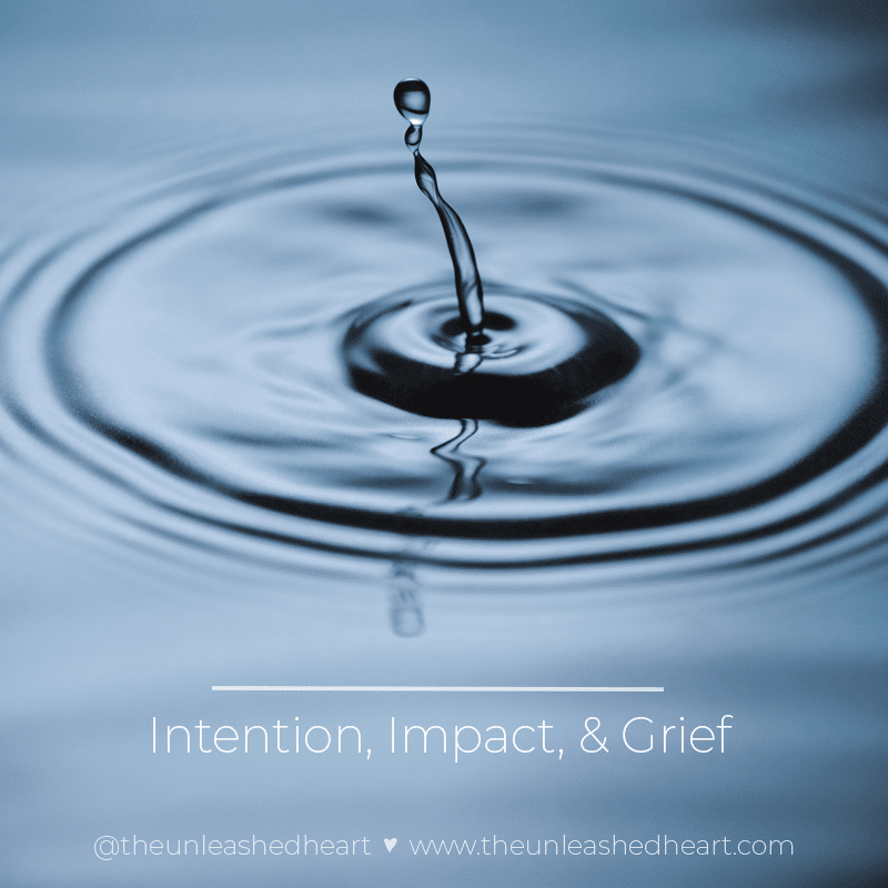 intention Impact Grief